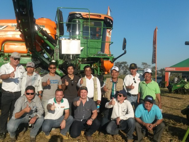 Unimaq dealership participates in the National Wheat Day in Bolivia