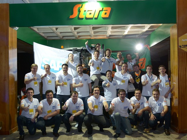 Project that gathers Stara Telemetry with SAP system is the winner of SAP Techniversity
