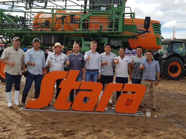 Stara joined the National Rice Day Event in Bolivia