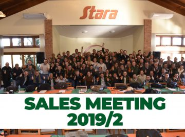Stara holds sales meeting with sales representatives